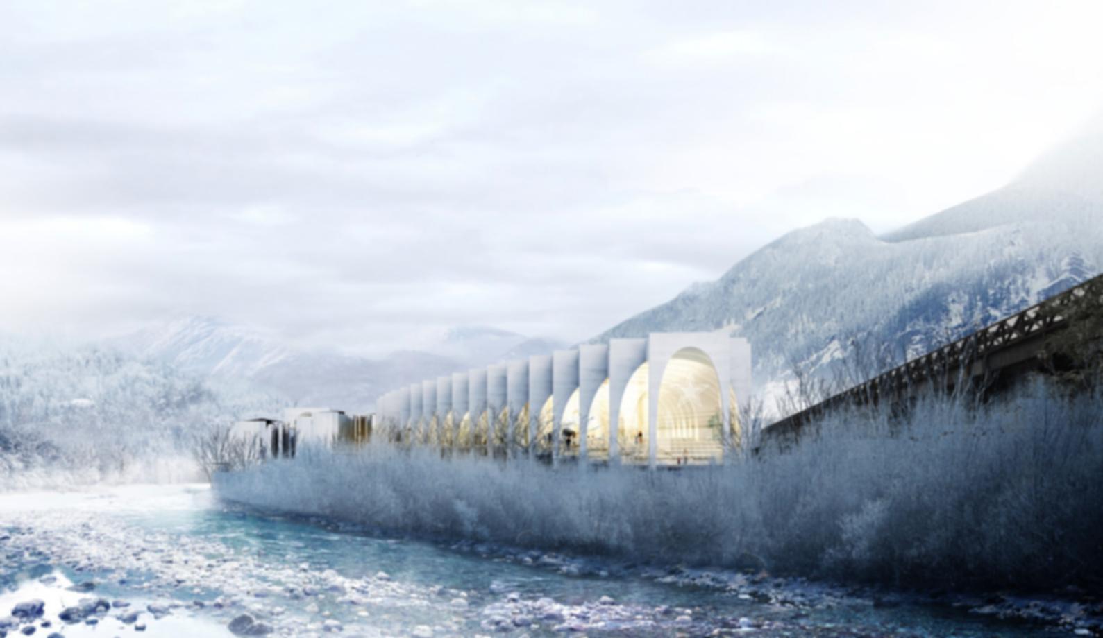 San Pellegrino Flagship Factory - Exterior Concept Design