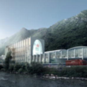 San Pellegrino Flagship Factory - Structure Concept Design