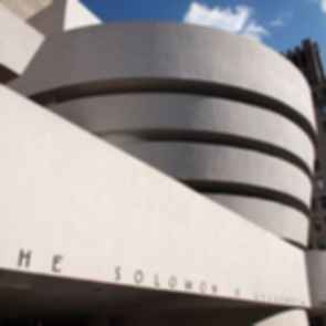 The Guggenheim - Sign Detail