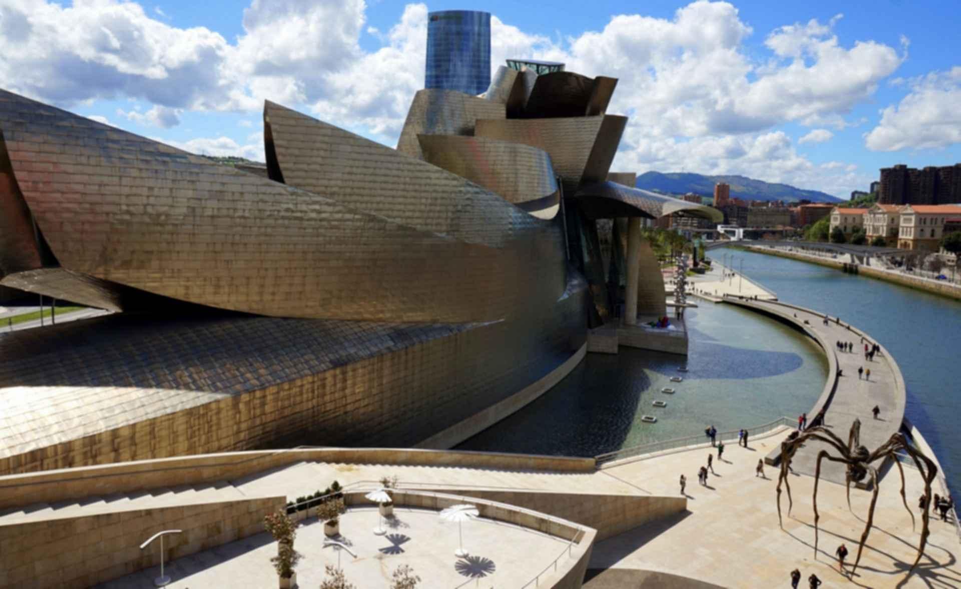 Guggenheim Museum Bilbao - Side Exterior