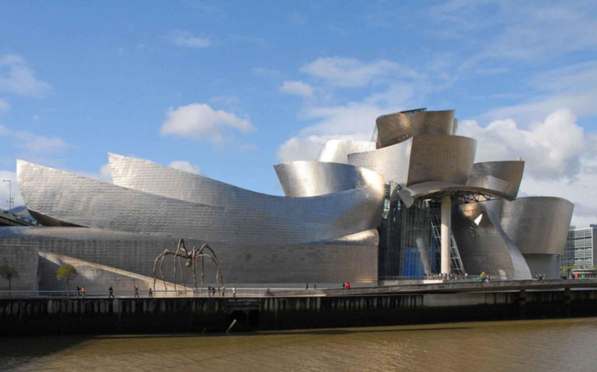 Guggenheim Museum Bilbao - Front Exterior