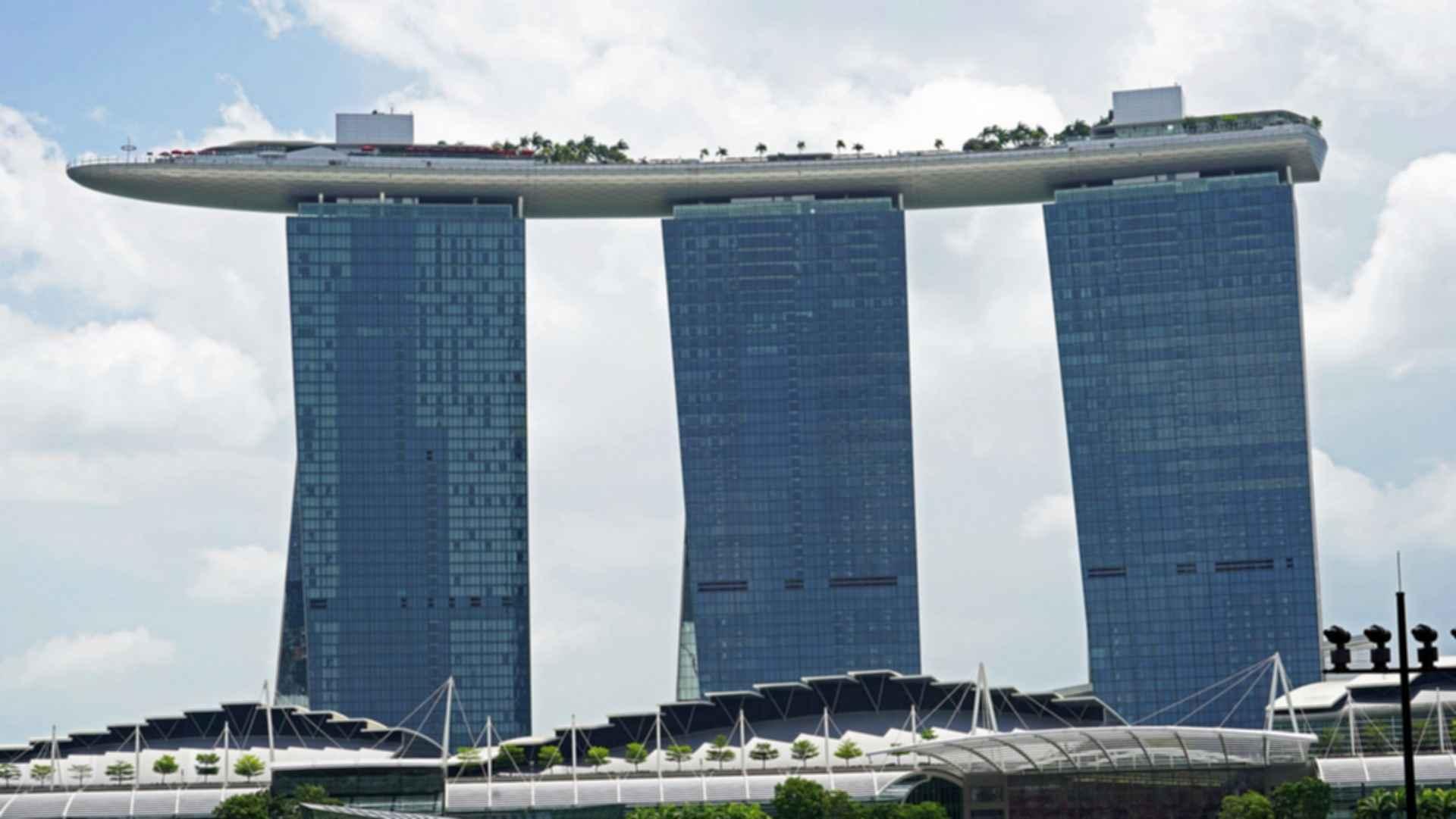 Marina Bay Sands - Front Exterior