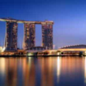 Marina Bay Sands - Exterior at Night