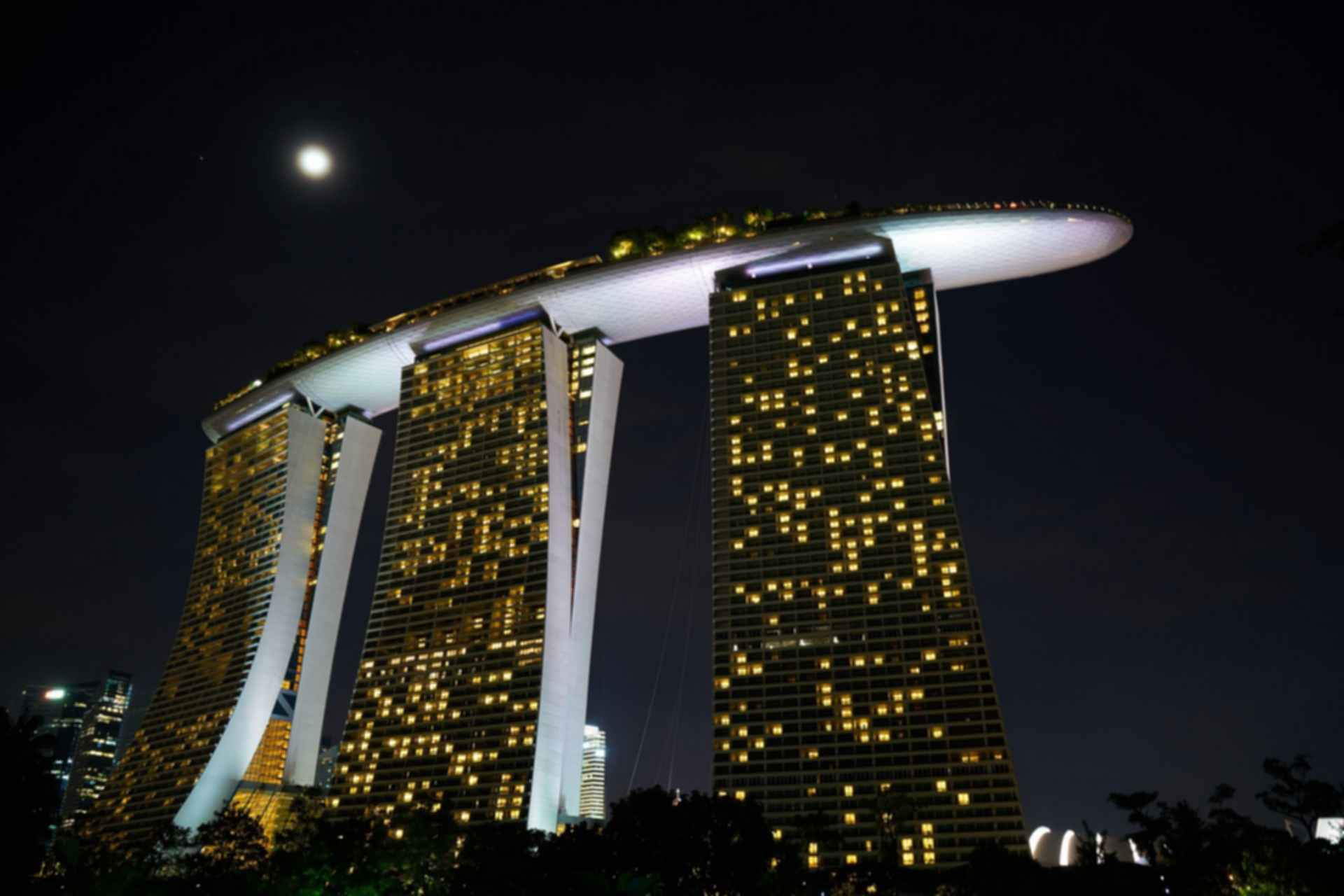 Marina Bay Sands - at Night