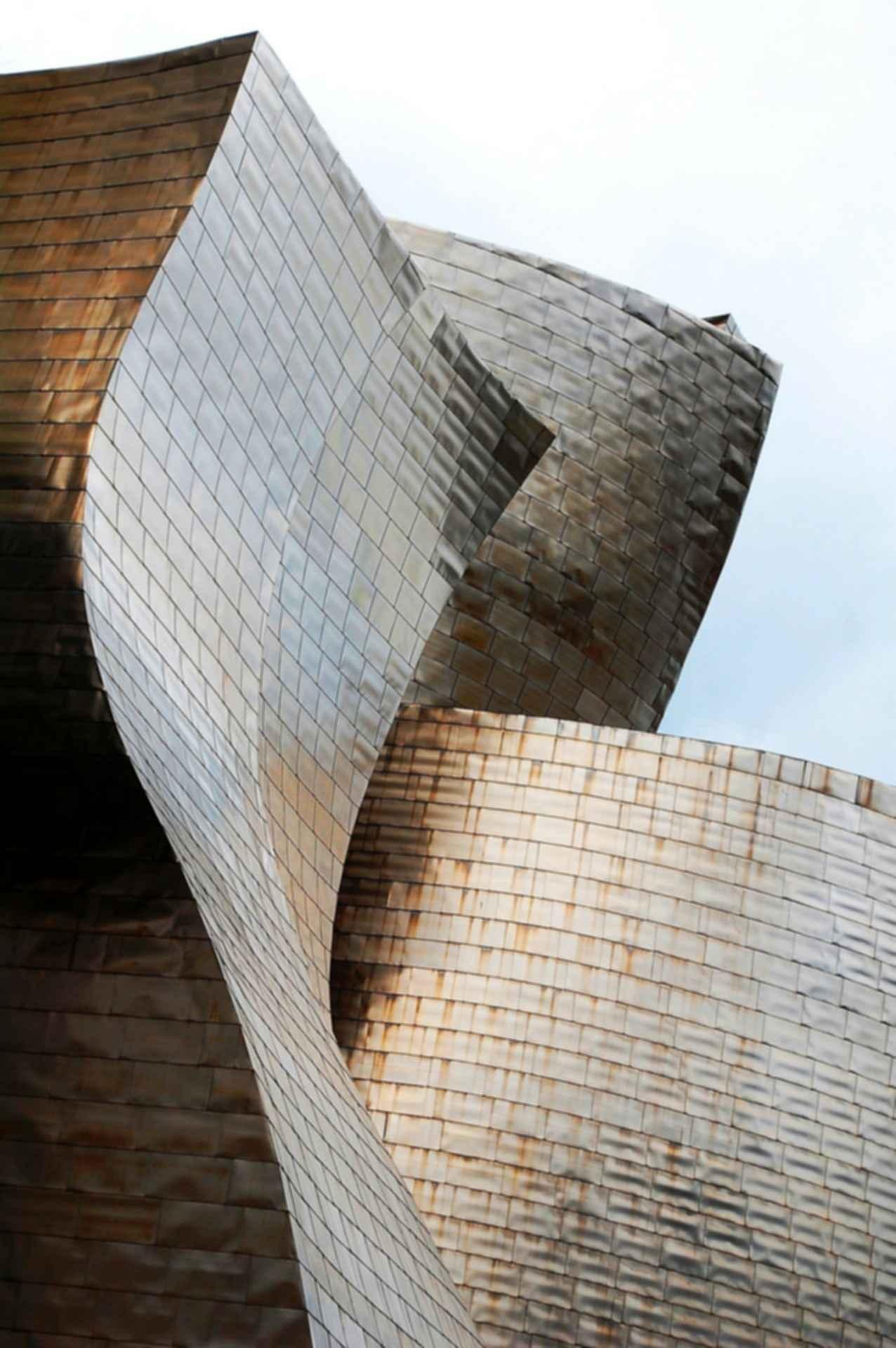 Guggenheim Museum Bilbao - Siding Detail