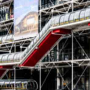 Pompidou Centre - Escalators