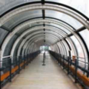 Pompidou Centre - Walkway Enclosure