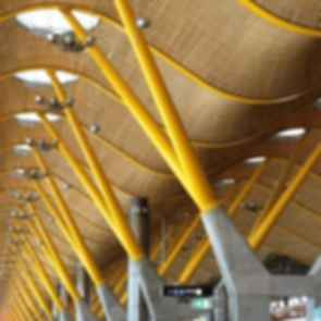Adolfo Suarez Madrid-Barajas Airport - Terminal 4 Ceiling Detail