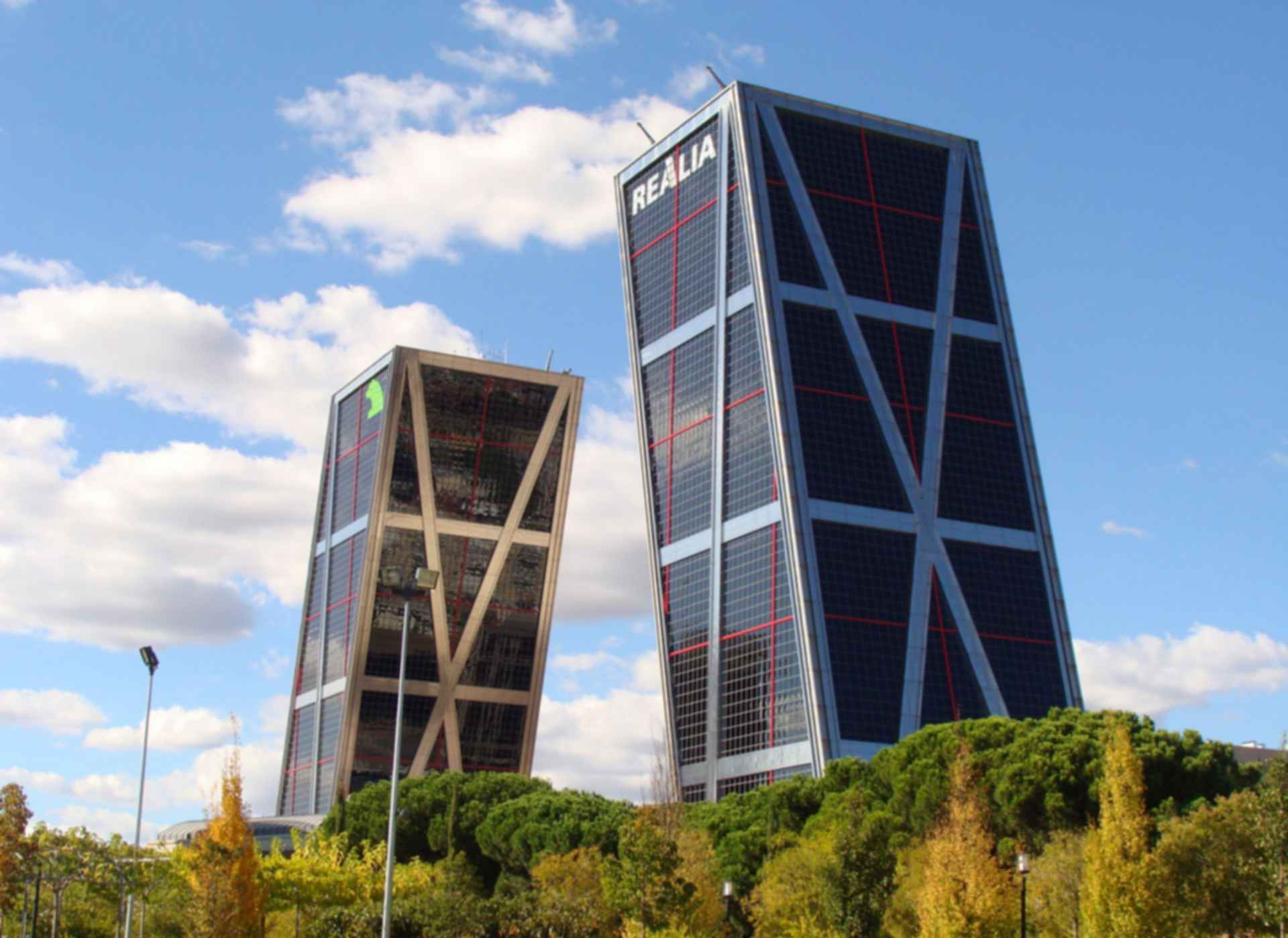 Gate of Europe Towers - Side View