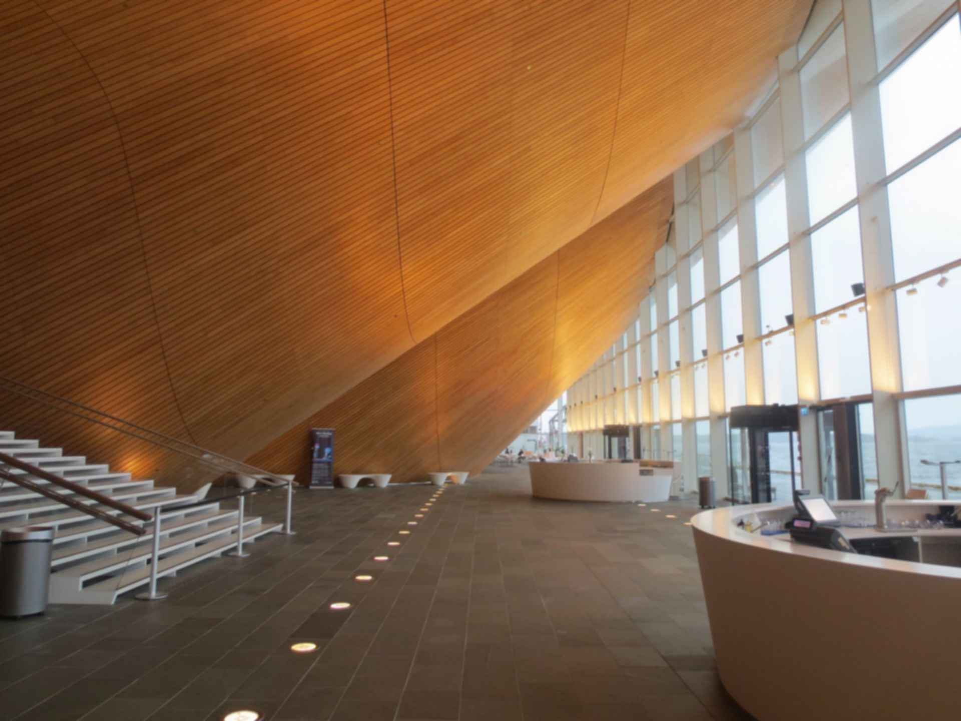 Kilden Performing Arts Centre -  Foyer Interior