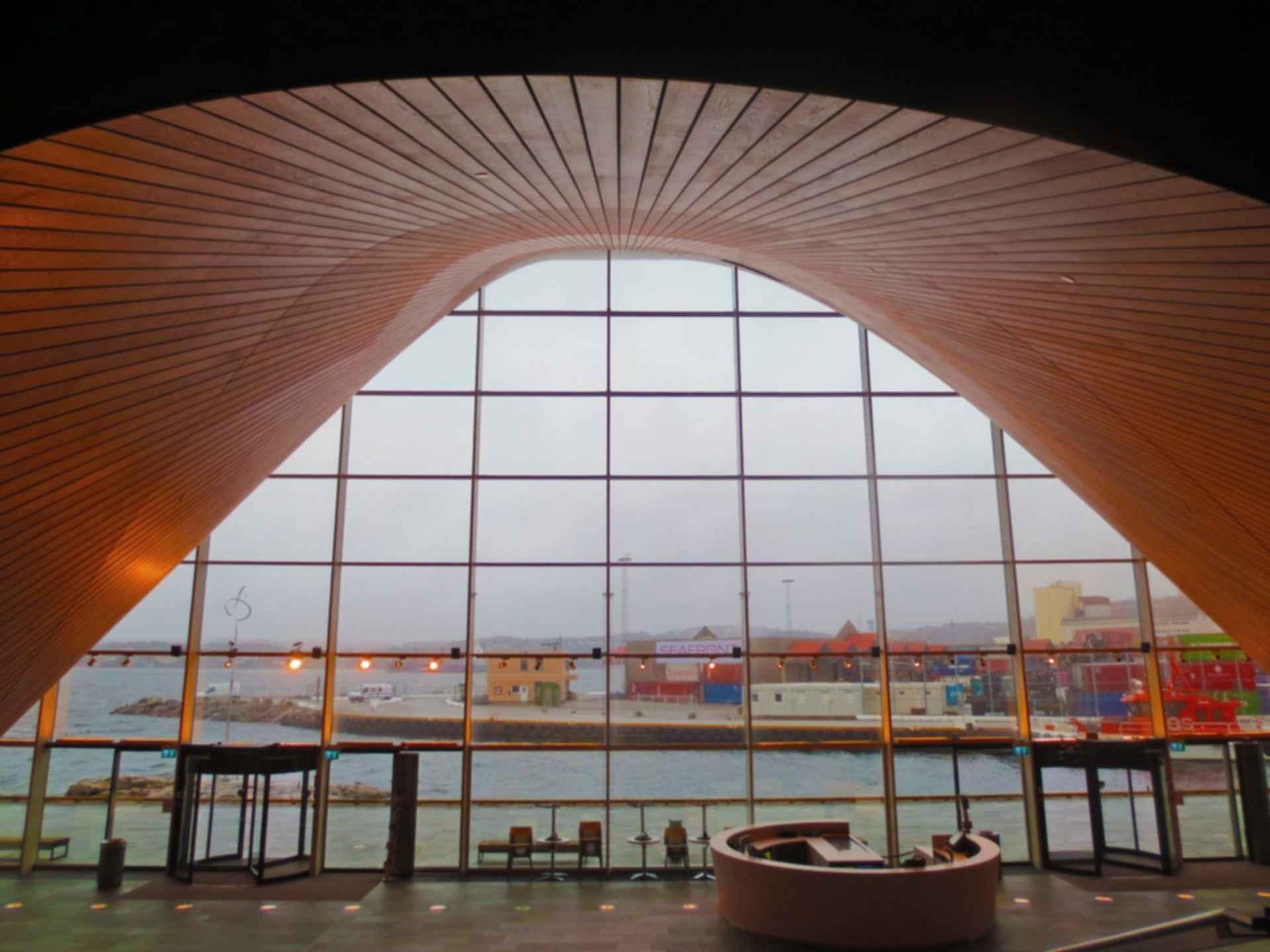 Kilden Performing Arts Centre - Interior Entrance