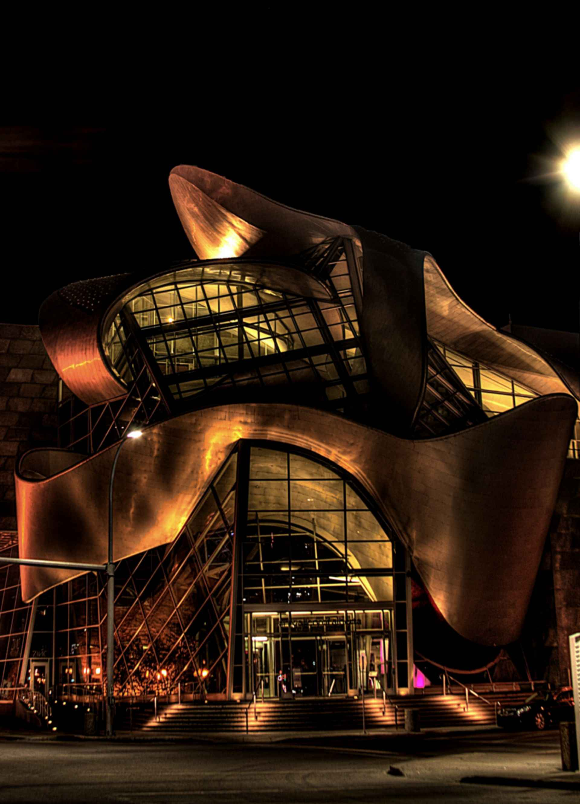 Art Gallery of Alberta - Exterior at Night