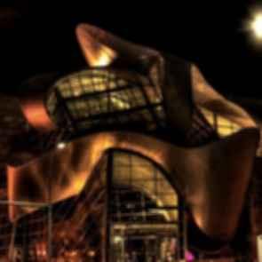 Art Gallery of Alberta - Exterior at Night