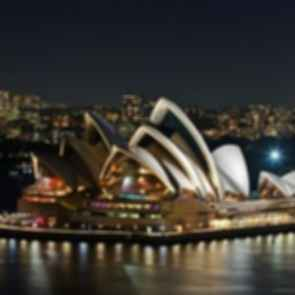 Sydney Opera House - At Night