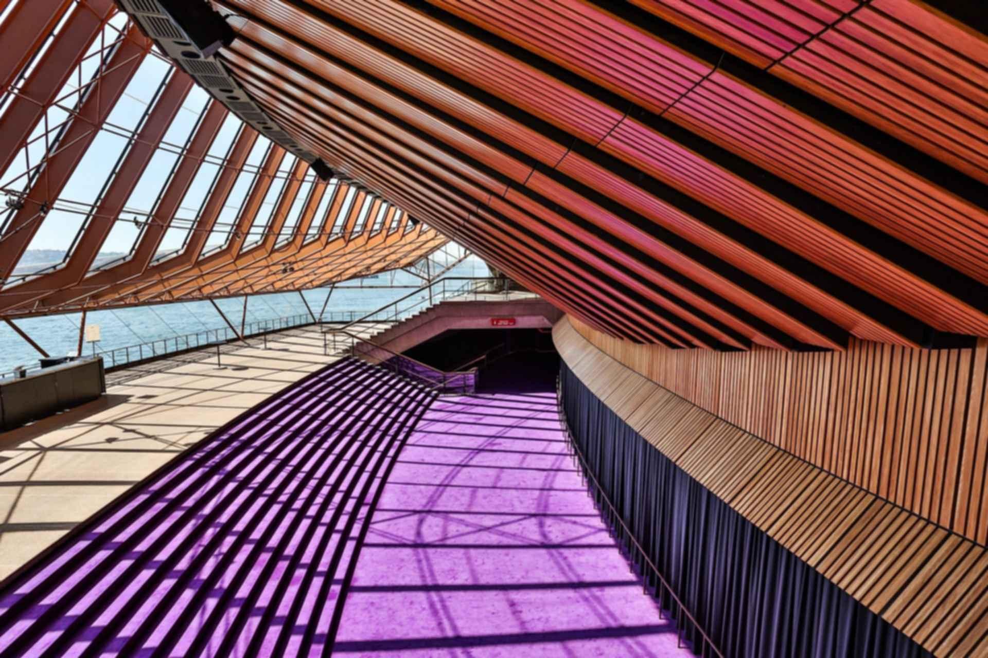 Sydney Opera House - Interior Ceiling