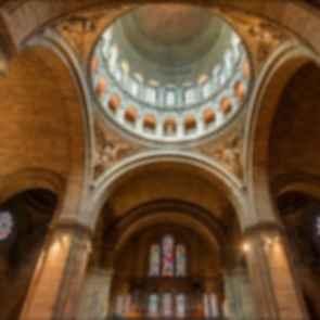 Sacre-Coeur Basilica - Interior Dome Ceiling