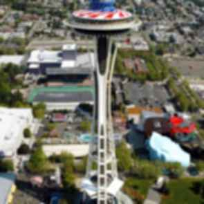 Space Needle - Bird's Eye View