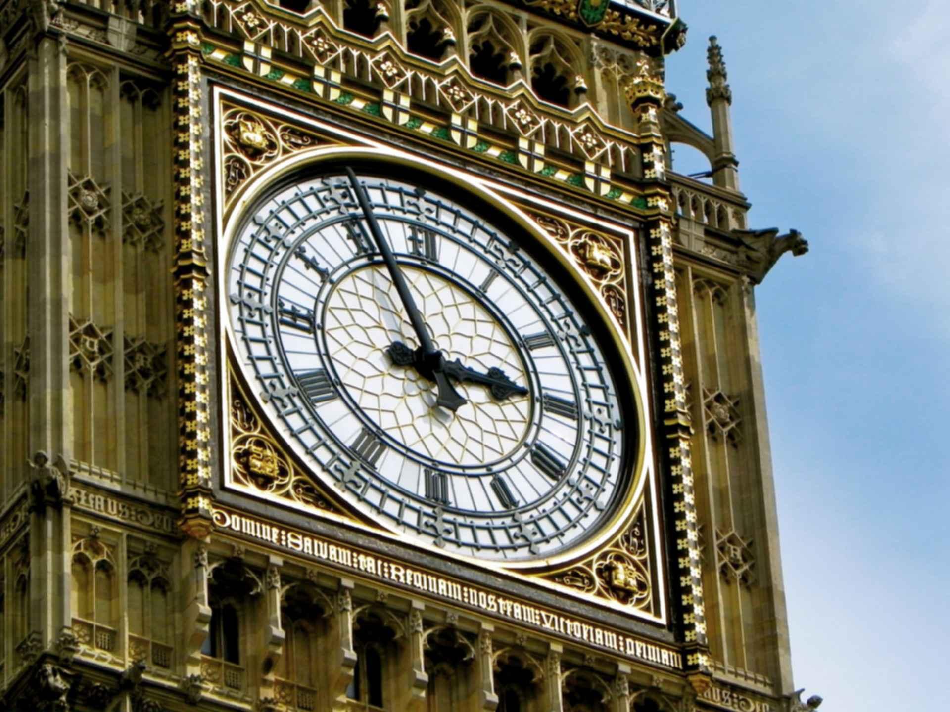 Big Ben - Clock Detail