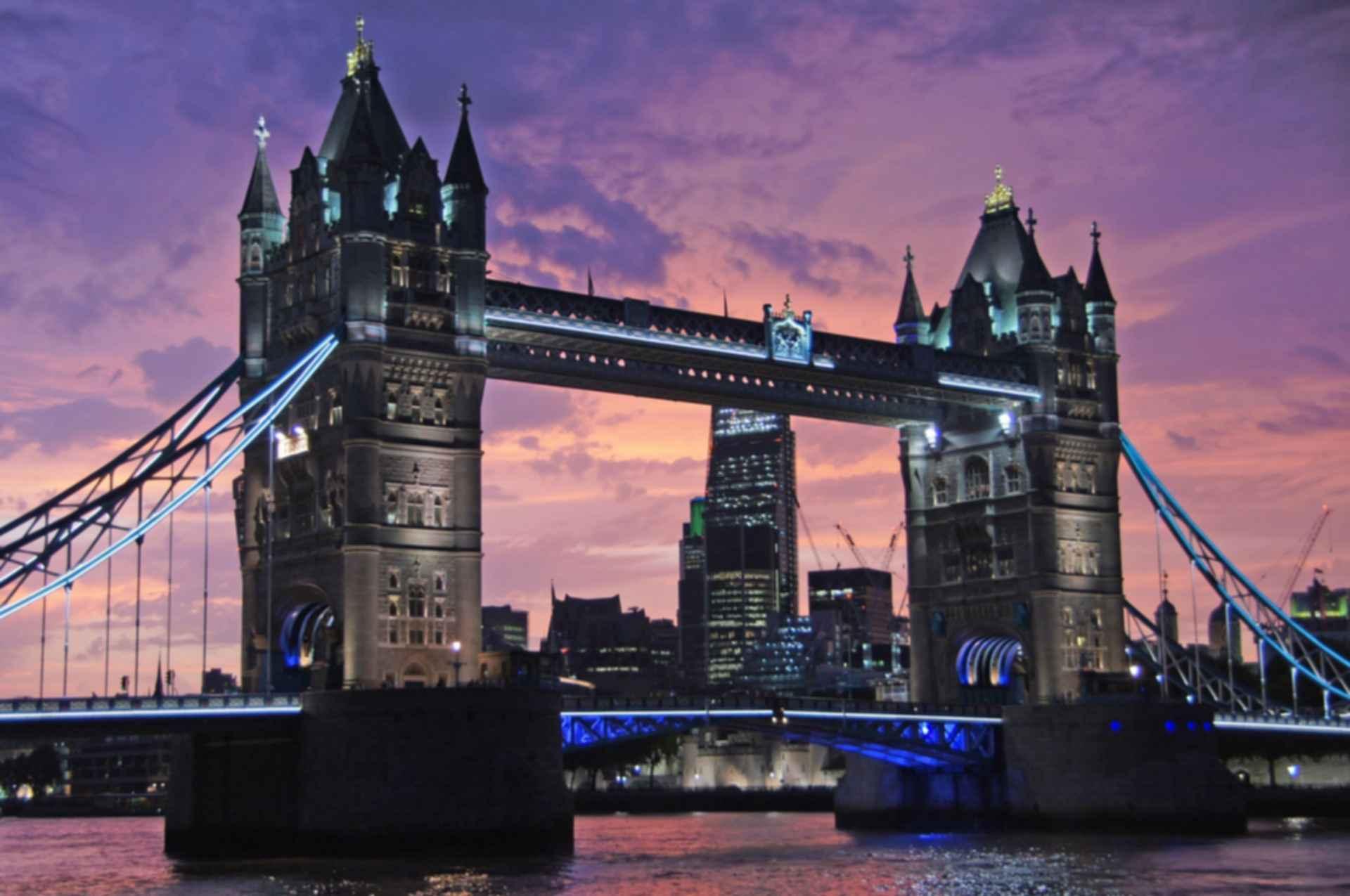 Tower Bridge - Sunset