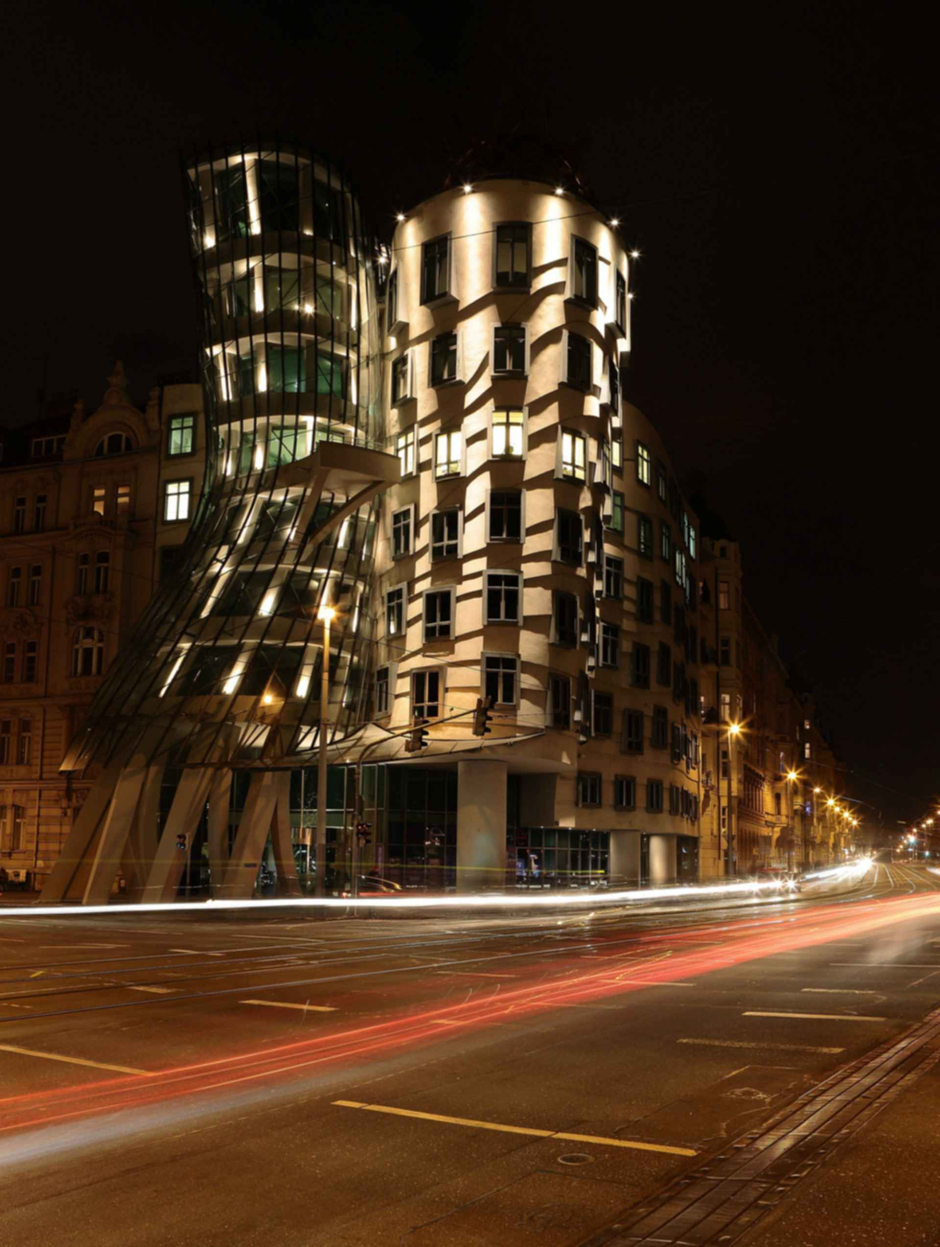 Dancing House - At Night