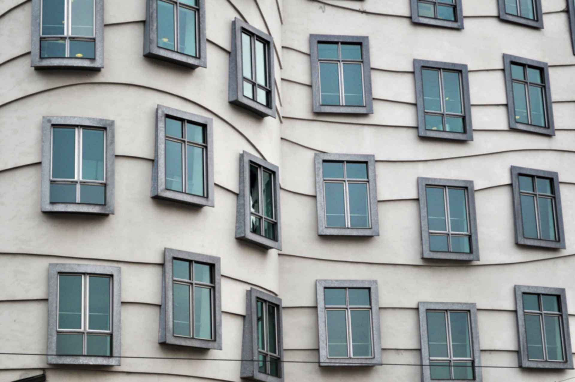 Dancing House - Windows