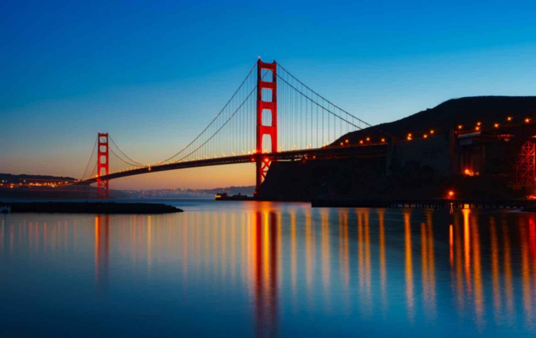 Golden Gate Bridge - At Dusk
