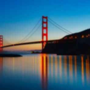 Golden Gate Bridge - At Dusk
