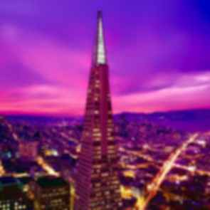 Transamerica Pyramid - Sunset