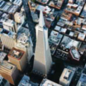 Transamerica Pyramid - Bird's Eye View