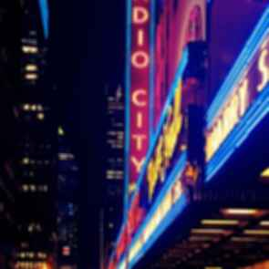Radio City Music Hall - Sign