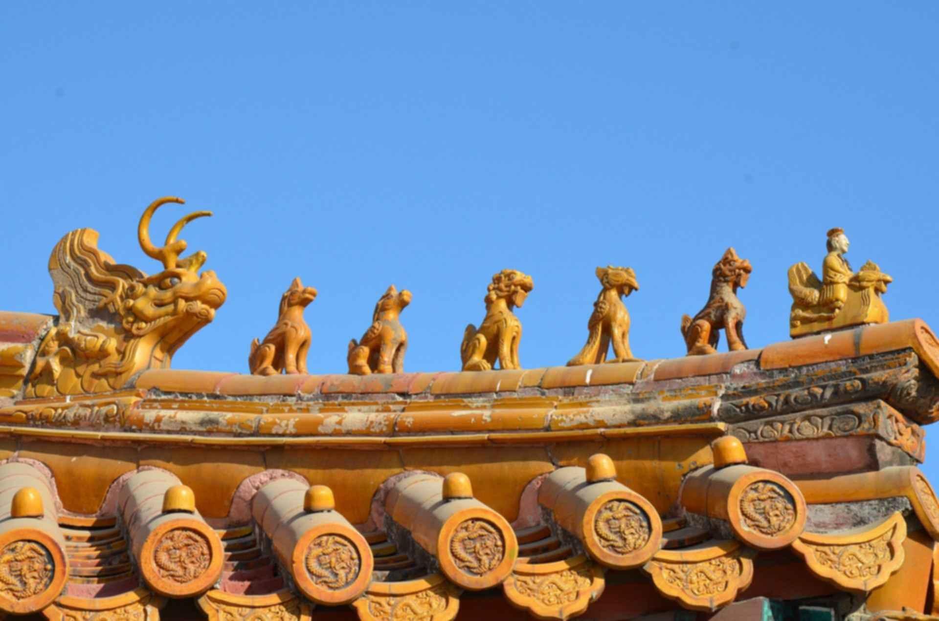 Forbidden City - Roof Decoration