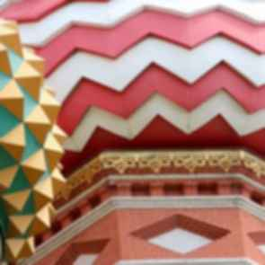 Saint Basil's Cathedral - Roof Patterns
