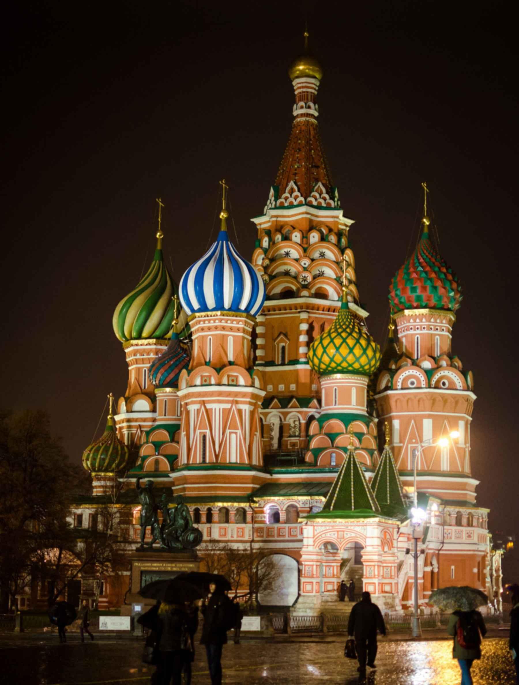 Saint Basil's Cathedral - Night