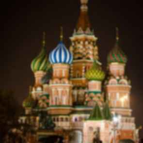 Saint Basil's Cathedral - Night