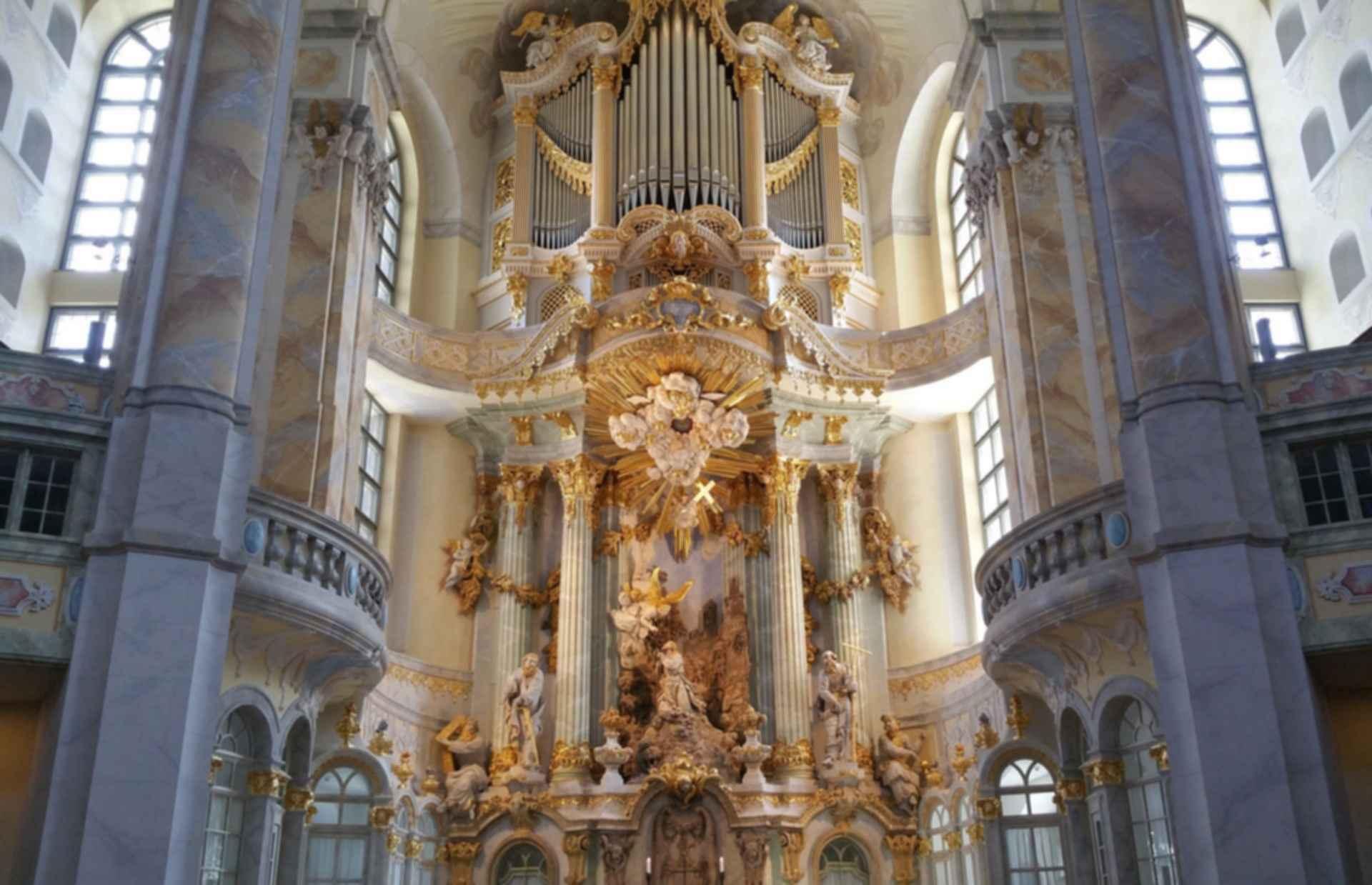 Dresden Frauenkirche - Interior