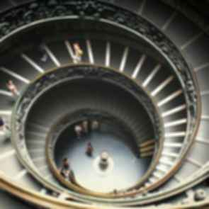 Vatican City - Spiral Staircase