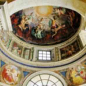 St Peter's Basilica - Ceiling Mural