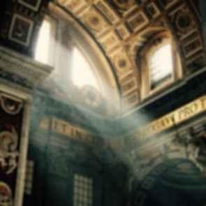 St Peter's Basilica - Interior