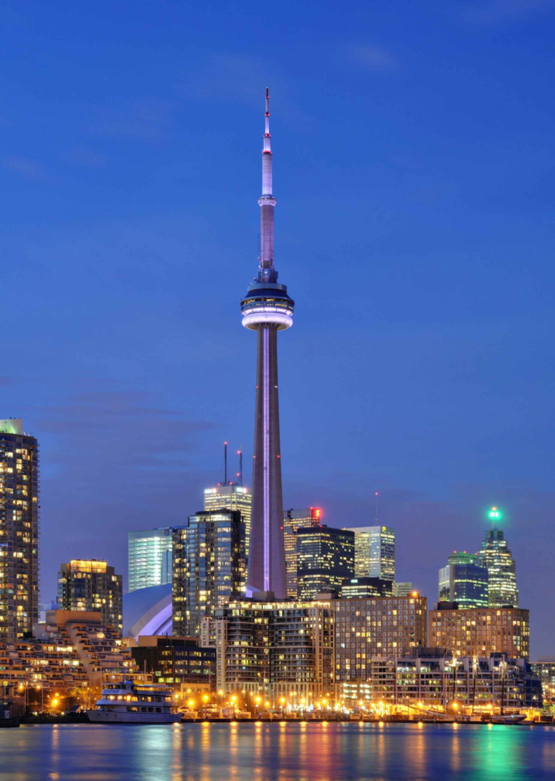 CN Tower - Night
