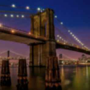 Brooklyn Bridge - Night