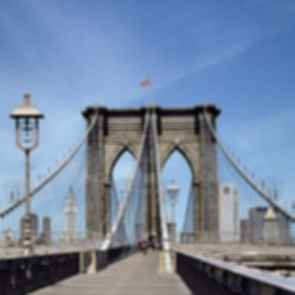 Brooklyn Bridge - Pedestrian Walkway