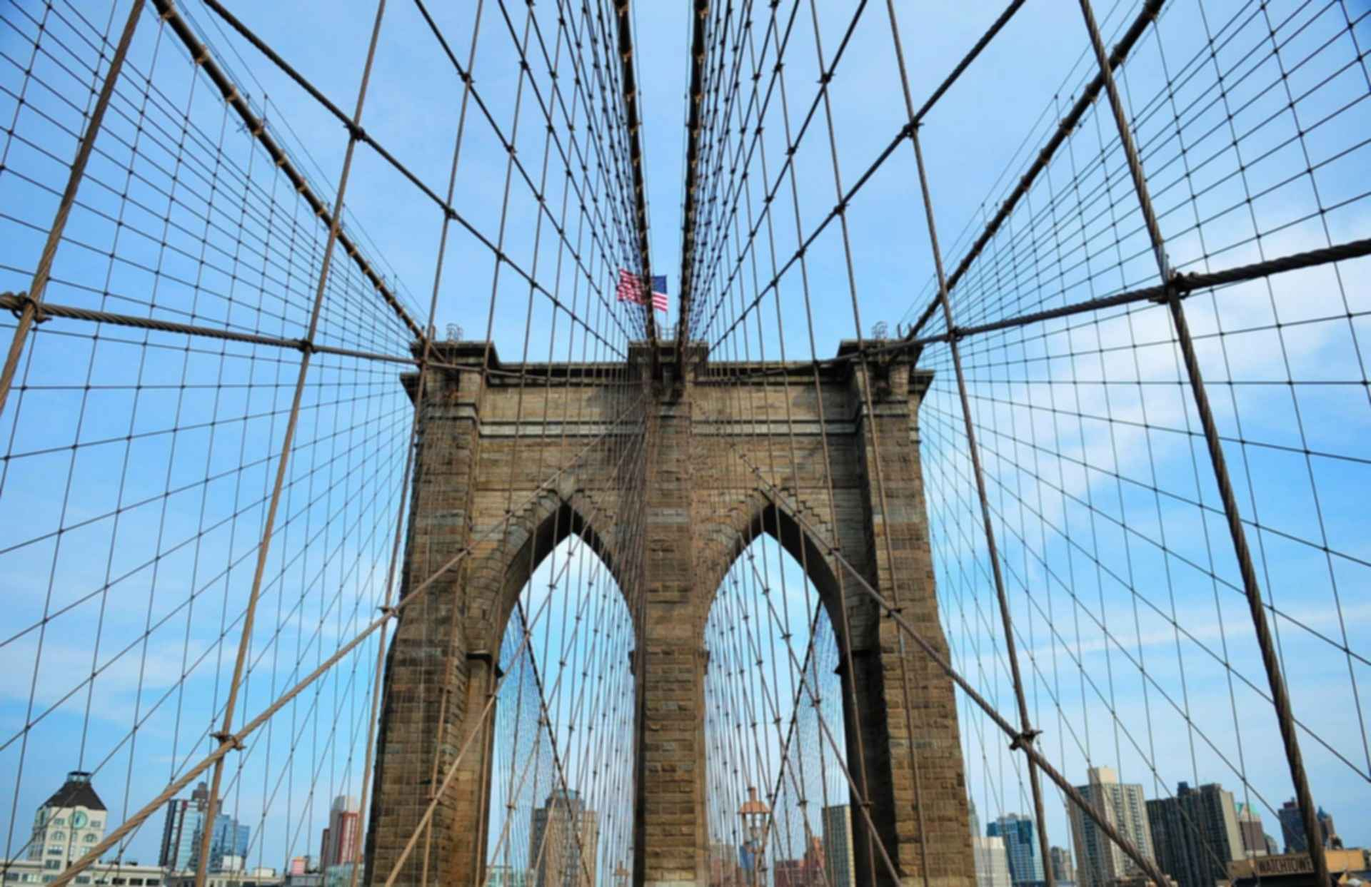 Brooklyn Bridge - Support Wires