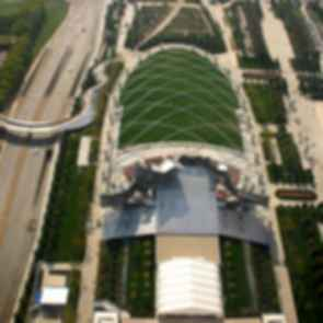 Jay Pritzker Pavilion - Bird's Eye View
