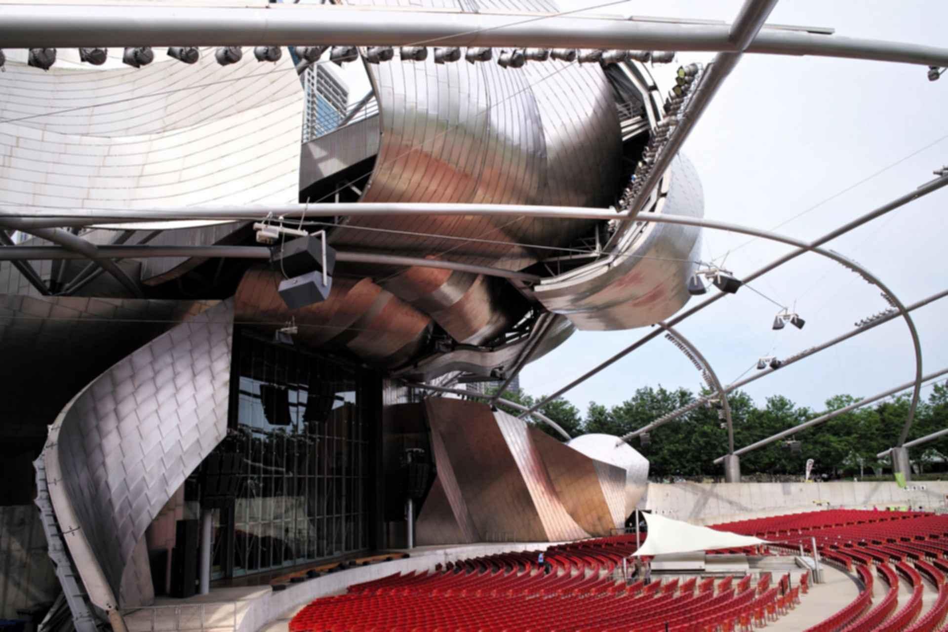 Jay Pritzker Pavilion - Side View