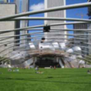 Jay Pritzker Pavilion - View From Park
