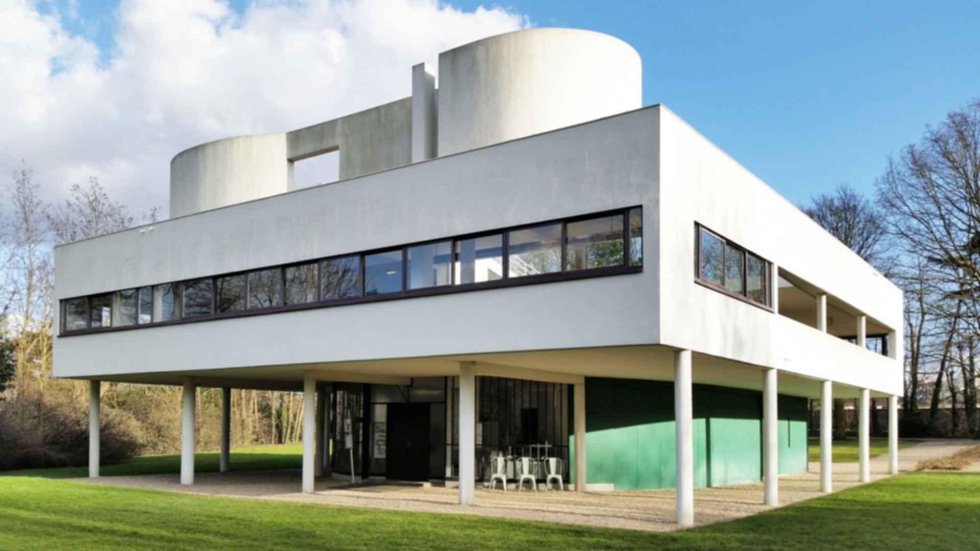 Villa Savoye Modlar Com