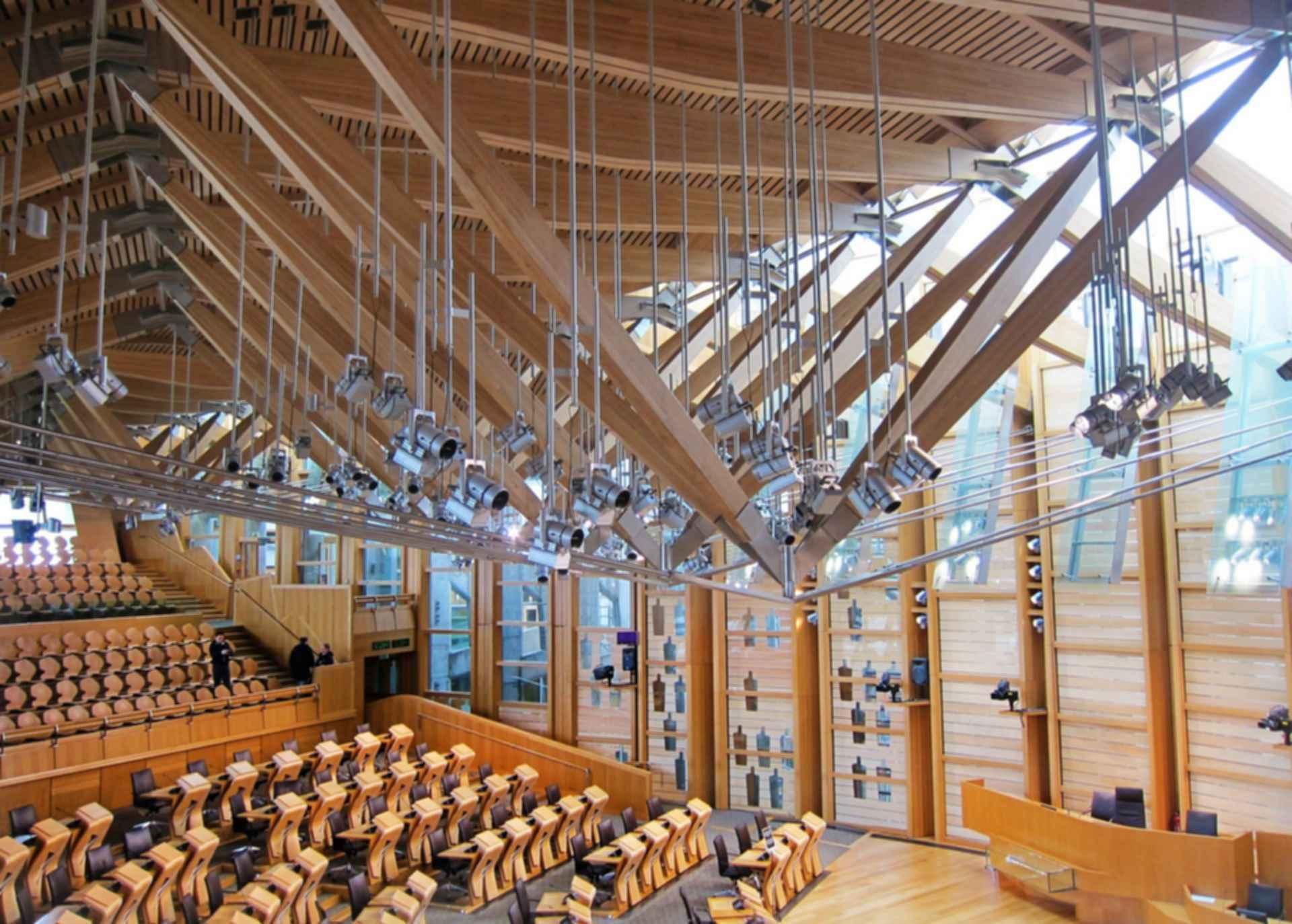 Scottish Parliament Building - Interior