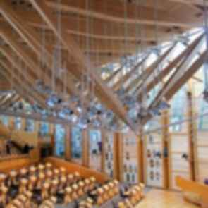 Scottish Parliament Building - Interior