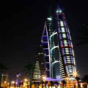 Bahrain World Trade Center - Night