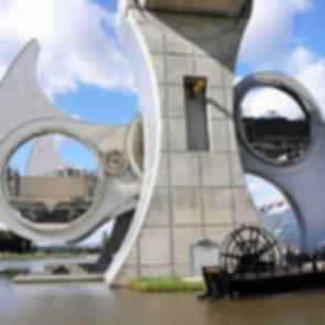 Falkirk Wheel - In Motion